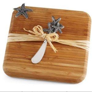 Starfish Bamboo Serving Board Set